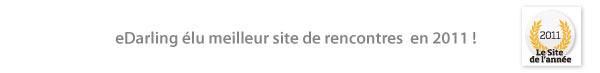 eDarling élu meilleur site de rencontres en 2011.